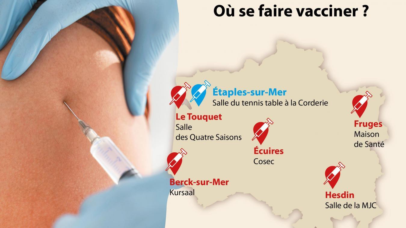 Tout savoir sur la vaccination dans le Montreuillois