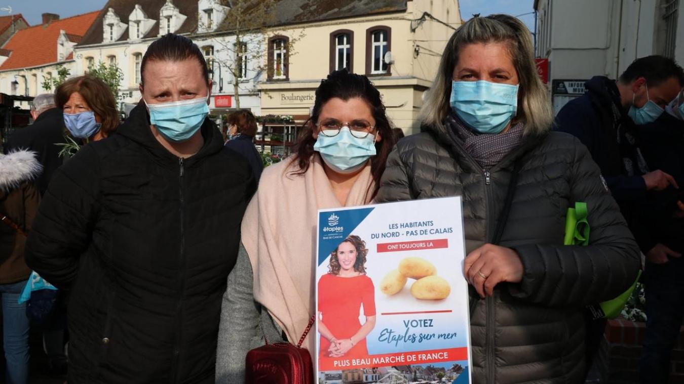 Les habitants et le marché d'Étaples-sur-Mer ont la patate.