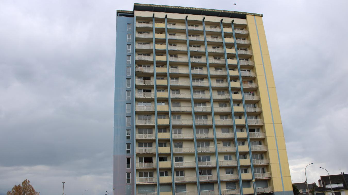 L'immeuble NT2 est vide depuis deux semaines. Tous les locataires ont été relogés.