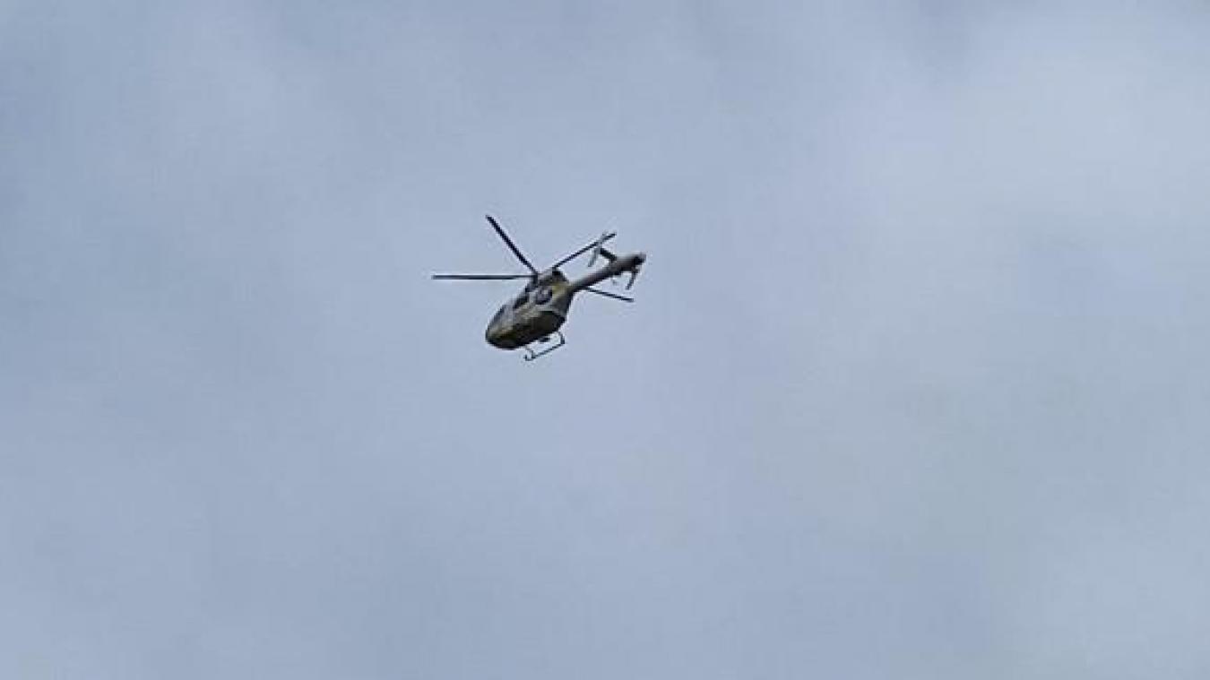 Un hélicoptère a été appelé ce jeudi après-midi à Watten. Photo d'archives