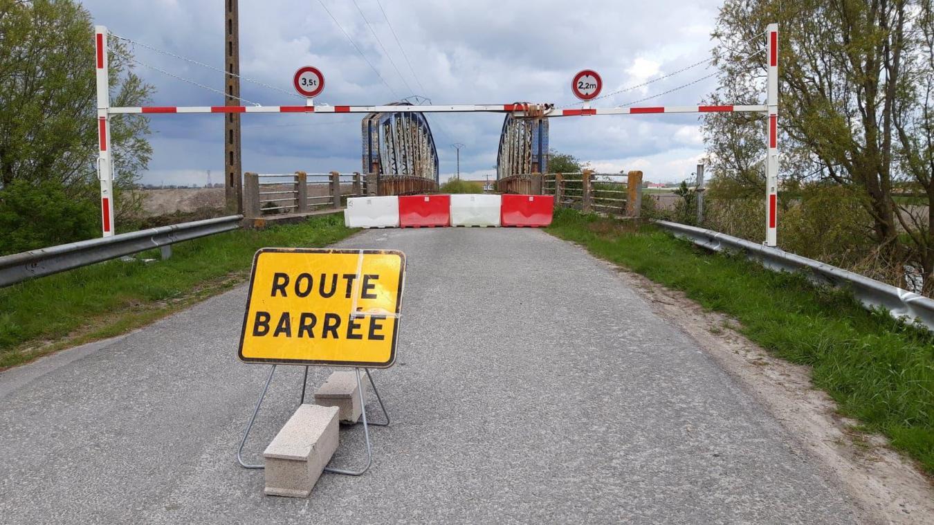 La Mairie réfléchit sur l'avenir du pont du Dieppe Straete à Brouckerque.