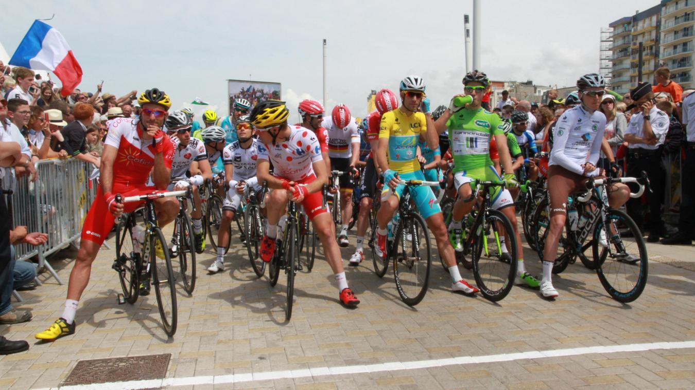 Le 8 juillet 2014, la quatrième étape du Tour de France s'élançait du Touquet-Paris-Plage.