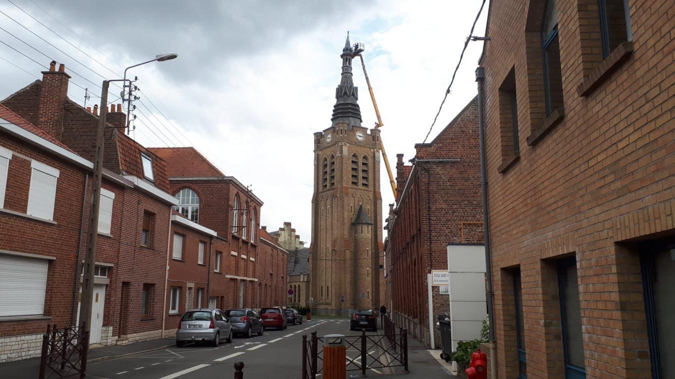 En août 2020, la Ville prenait un arrêté de péril imminent: le campanile de l'église Saint-Amand menaçait de s'effondrer. Cette année, les réparations sont l'investissement le plus important.