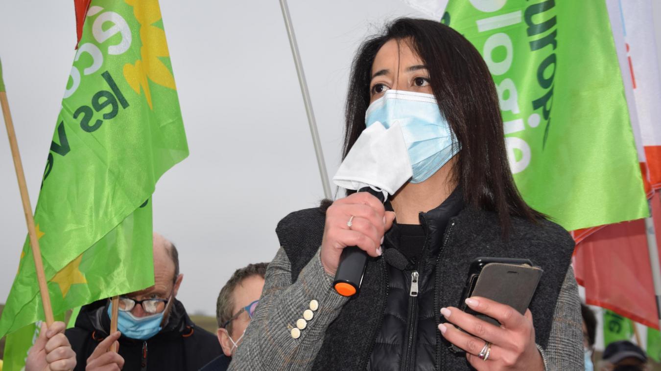L'élue écologiste est la tête de liste de l'union de la gauche aux élections régionales.