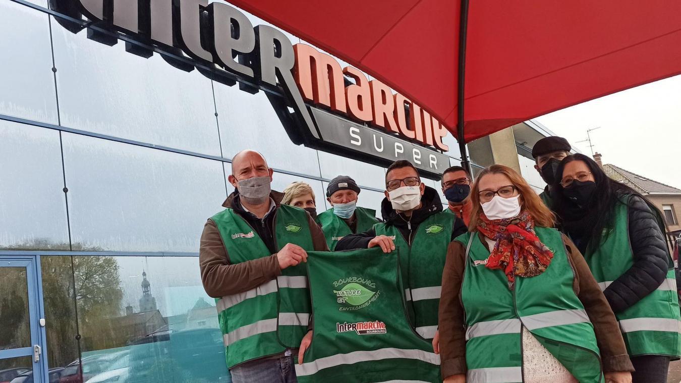 Intermarché Bourbourg, un nouveau partenaire pour ramasser les déchets sauvages
