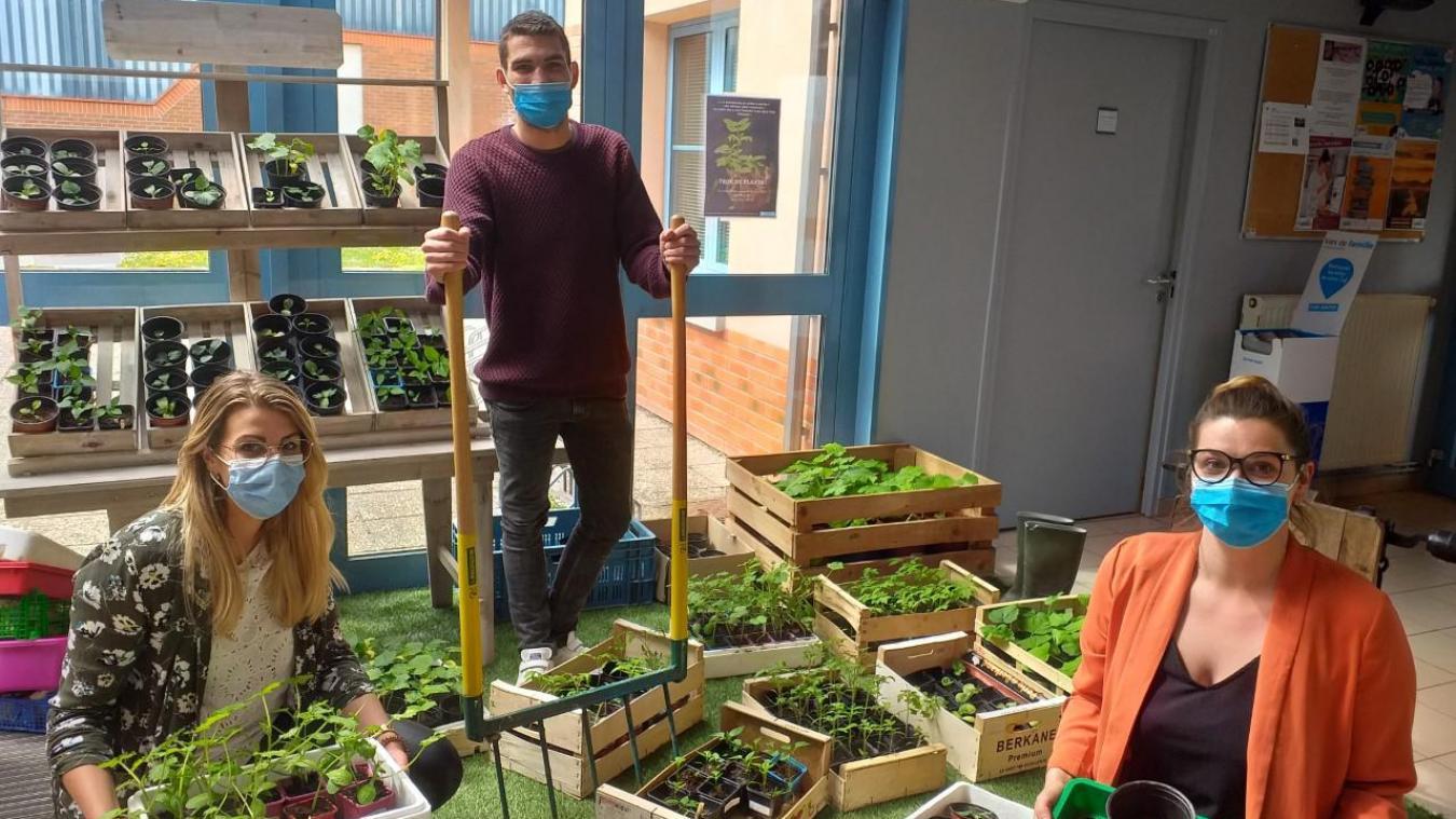 Après le troc de plants devrait venir un troc de légumes cet été.