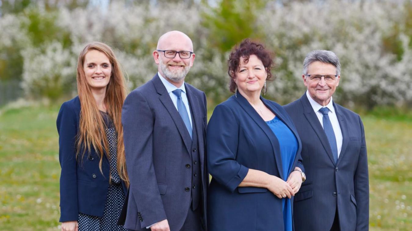 Céline Baillie Bouchel, Olivier Majewicz, Clotilde Beaufils et Jean-Marie Louchez veulent ramener le canton de Marck dans la majorité Départementale.