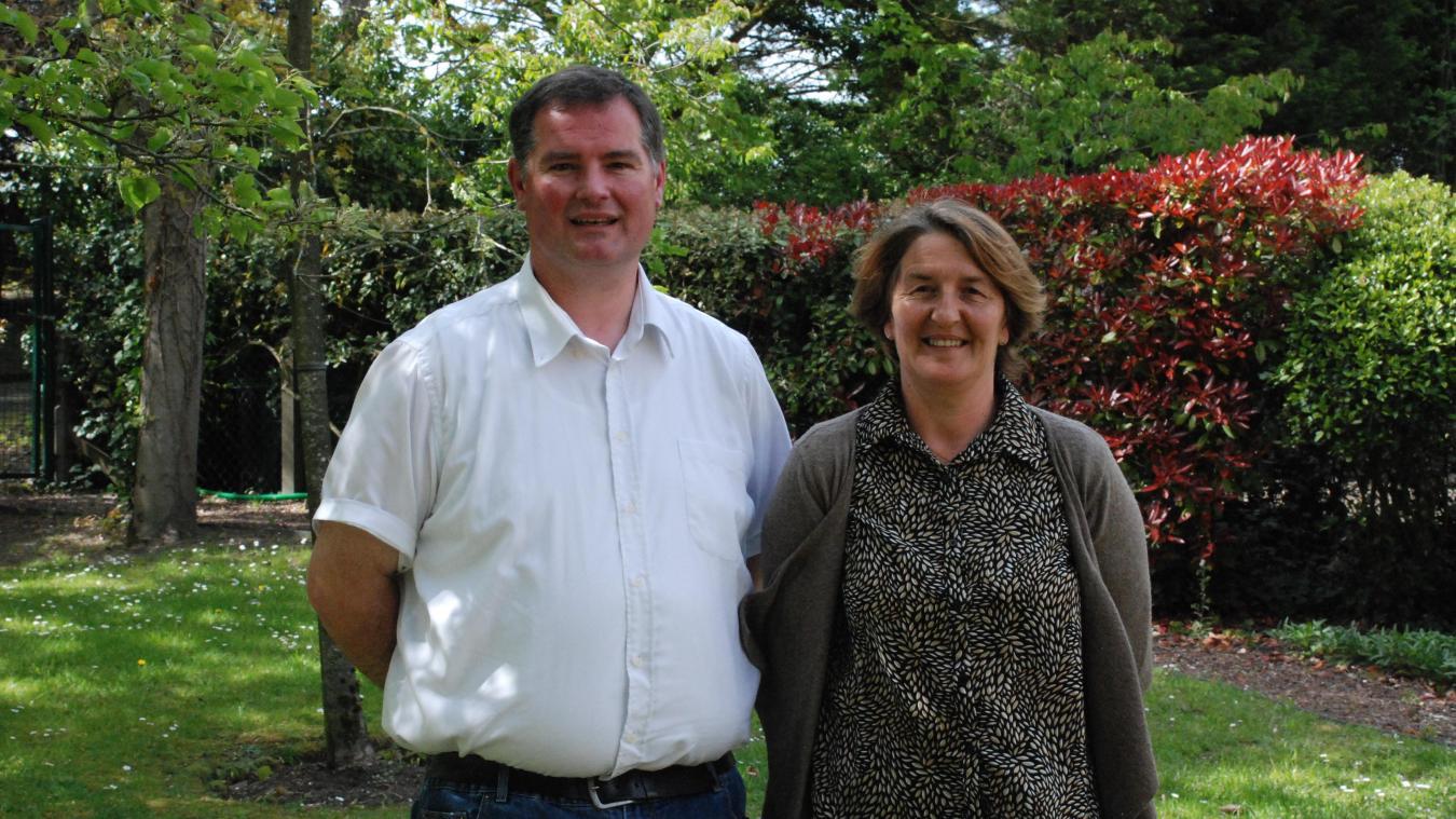 François Emmerlinck et Ingrid Dewost sont les candidats titulaires aux élections départementales.