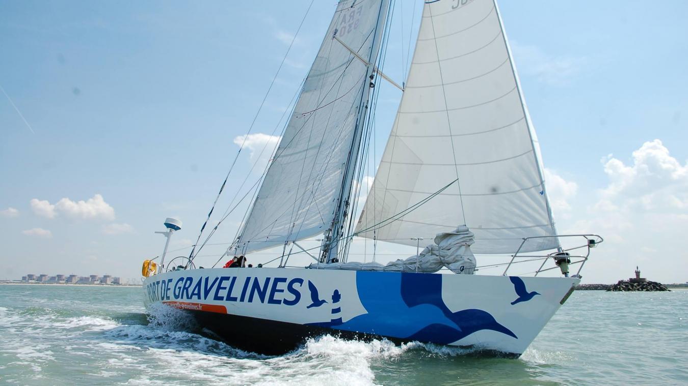 Le Port de Gravelines a quitté la ville le 15 avril, acquis par l'association L'Ancre.