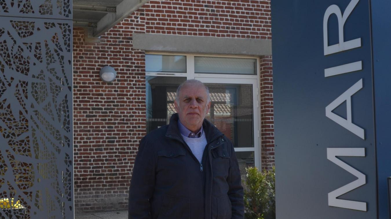 Gilles Tailly est maire de Westrehem depuis 2014.