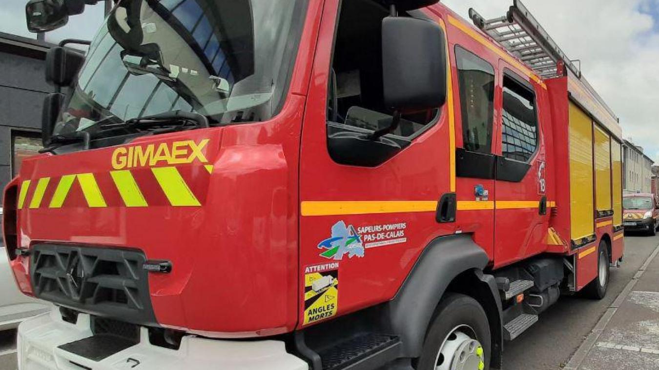 Les sapeurs-pompiers de Béthune, Bruay et Auchel sont intervenus rue Marcel-Seillier à Divion. (Photo d'archives)