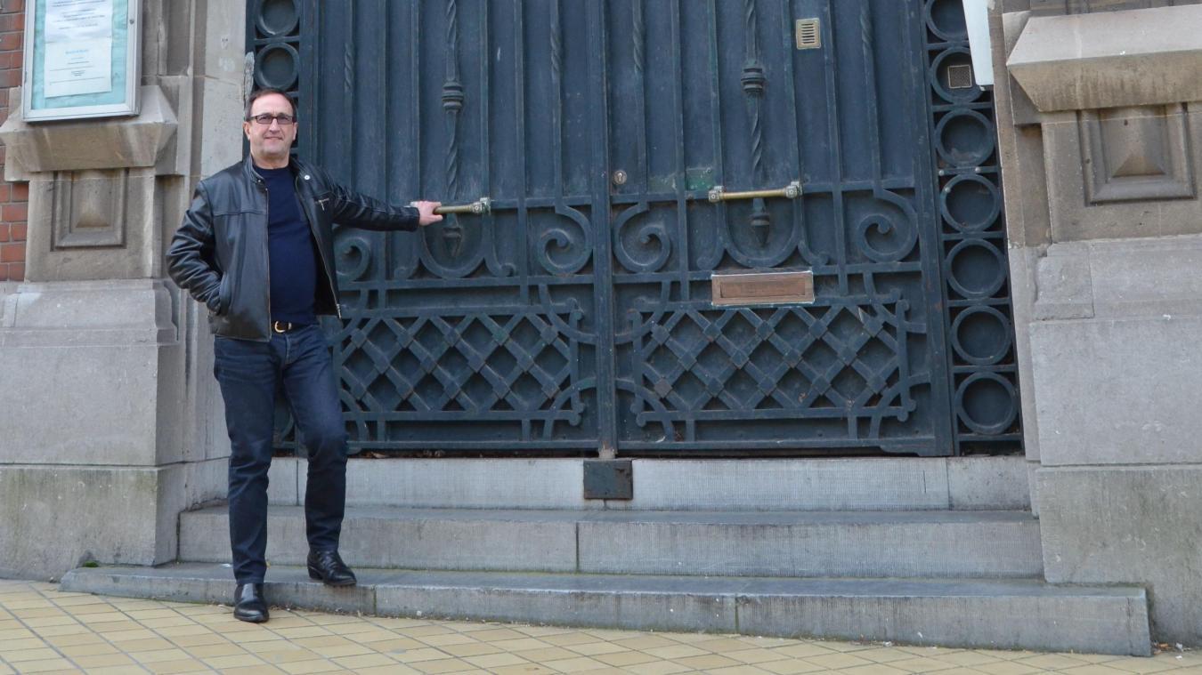 Donato Martin, gérant de Azur Mobilier, espère ouvrir son concept store d'ici le mois de novembre dans les anciens locaux de la Banque de France.