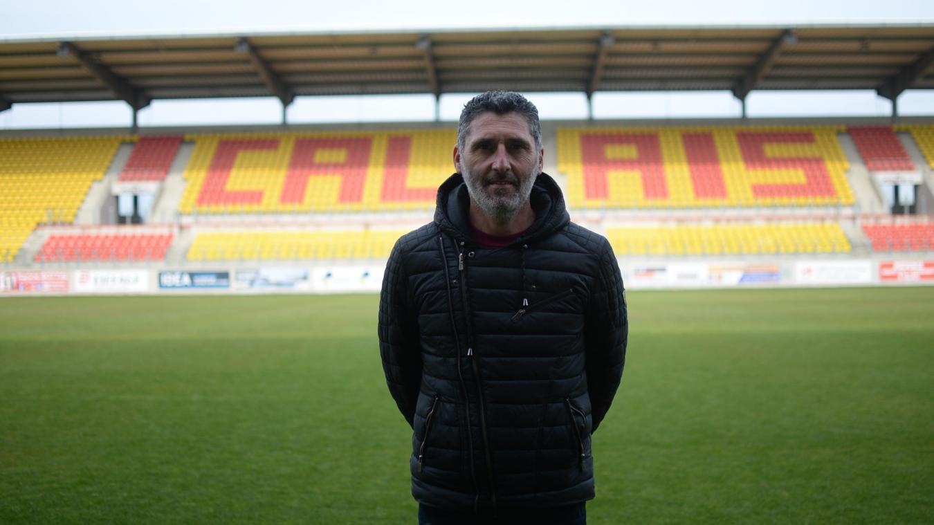 Jocelyn Merlen, coach de l'équipe du Grand Calais Pascal.