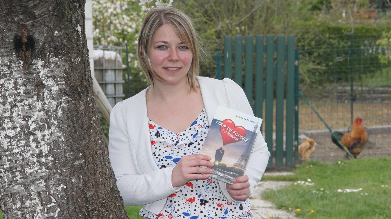Élodie Ternynck ne s'endort pas sur ses lauriers : elle travaille à la rédaction d'un second ouvrage.