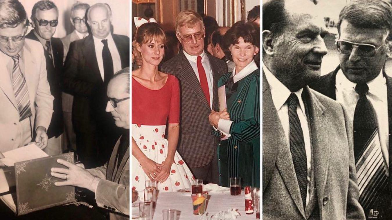 En visite à la mairie de Berck, à l'arbre de Noël de l'Elysée ou en campagne à Béthune, Claude Wilquin était dans les pas de François Mitterrand.