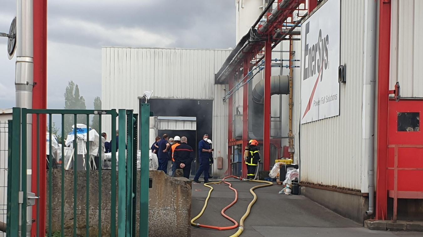 Un gros dispositif a été déployé pour éteindre l'incendie.