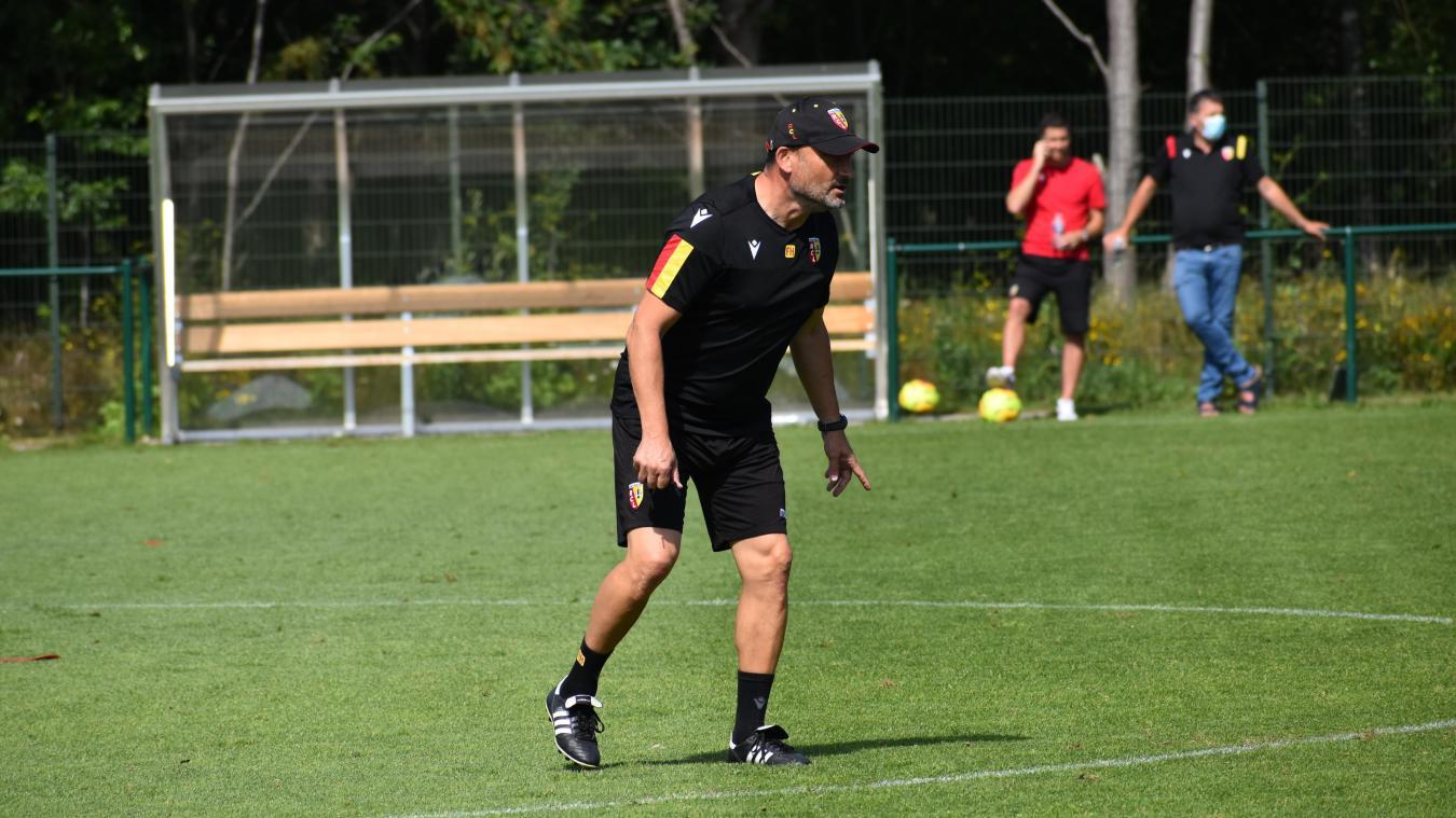 Franck Haise a pris la tête de l'équipe première en février 2020.
