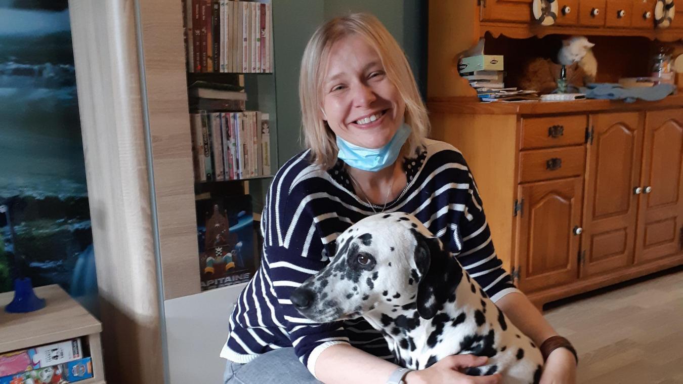 Stéphanie Degryck de Wormhout a rebondi et pense aux besoins de chacun.