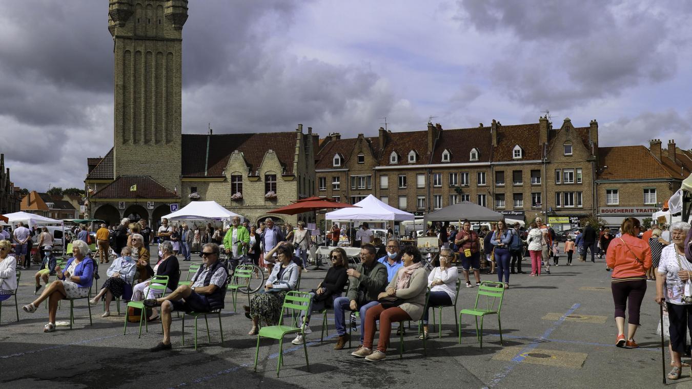 En plus des Plus beaux dimanches de Bergues, la Ville a souhaité créer de nouvelles manifestations et animations, en juillet et août. Histoire qu'il n'y ait pas un week-end sans aucun événement. (Photo de Jacky Devos)