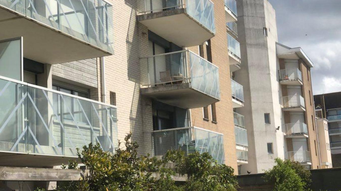 L'incendie a eu lieu à la résidence Clair de dunes, boulevard Georges-Pompidou. Il est parti de la chambre.