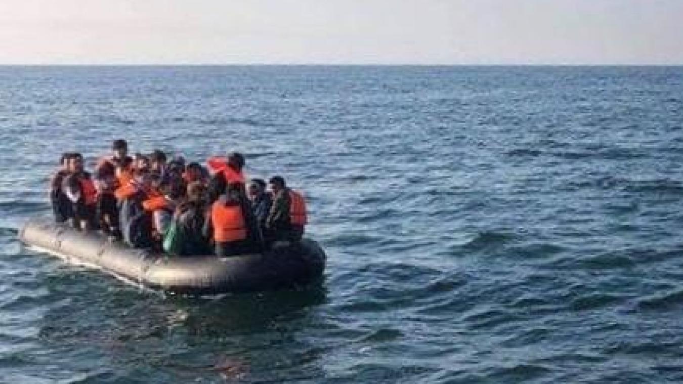 29 réfugiés se trouvaient dans l'embarcation dont cinq femmes au large de la digue de Malo.