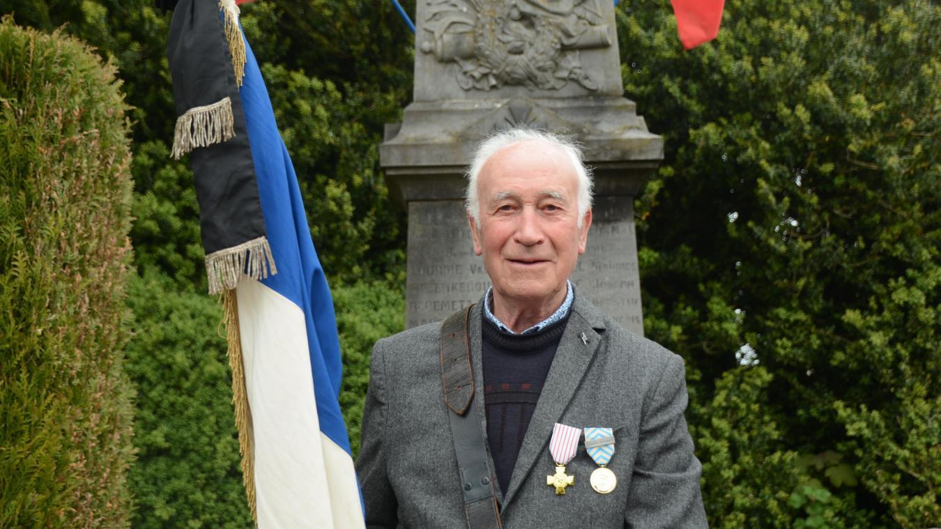 Jacques Leroy a reçu la médaille de reconnaissance de la Nation.