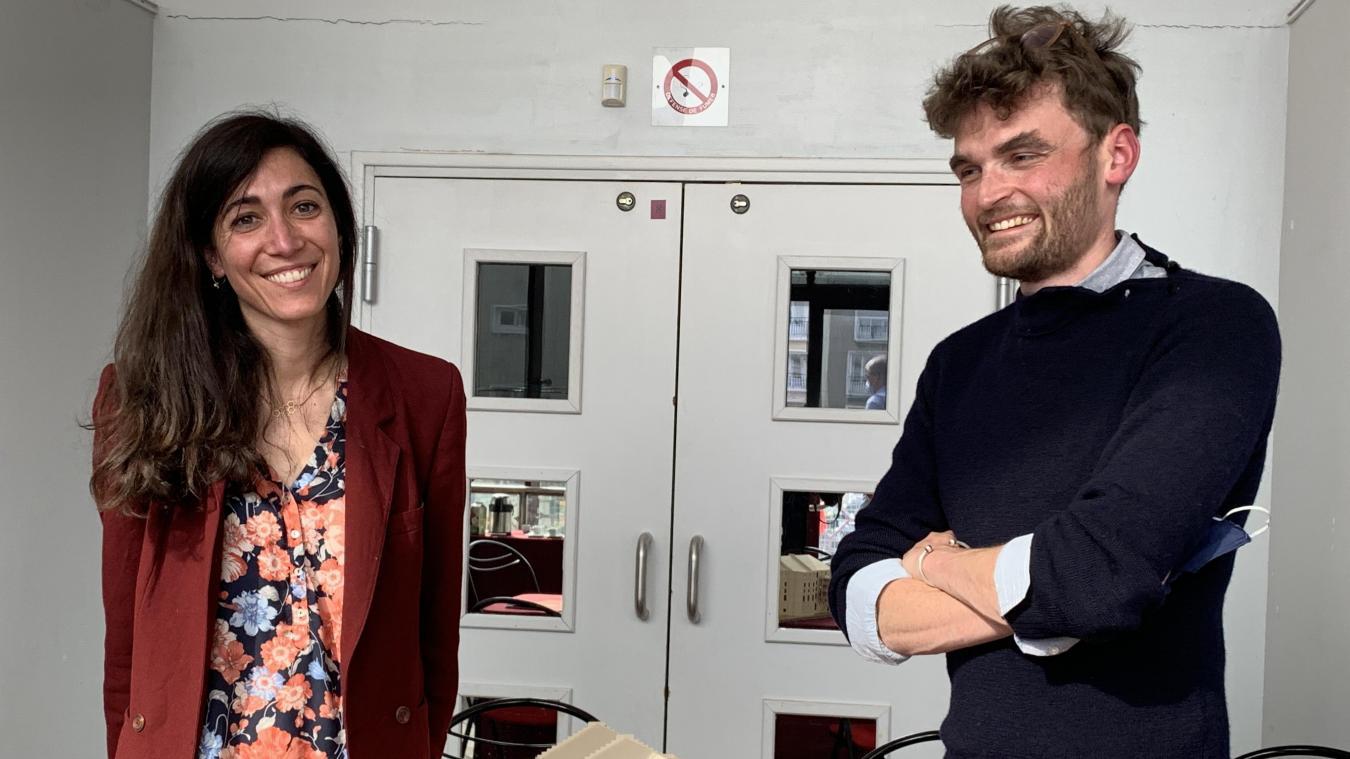 Capucine et Simon Himpens, les architectes.