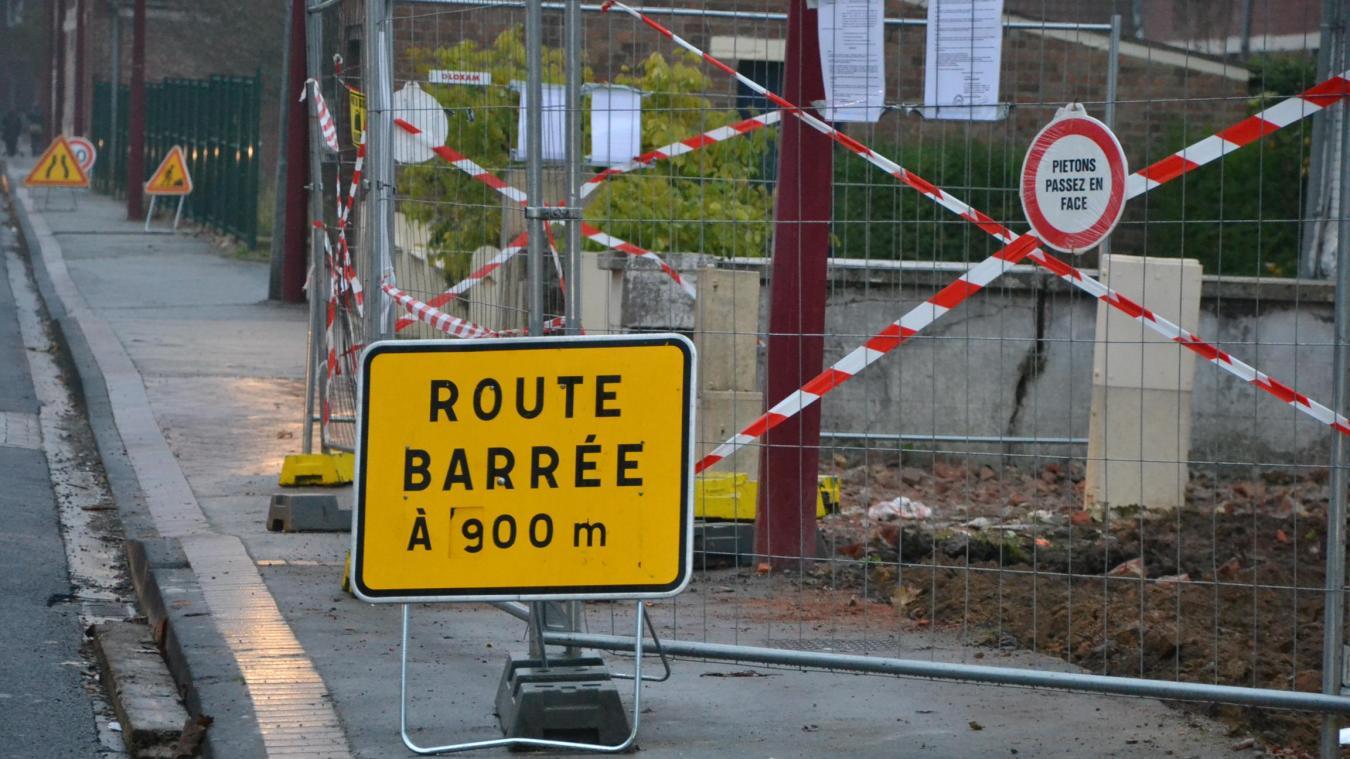 Dunkerque : les travaux de rénovation des rues modifient la circulation.