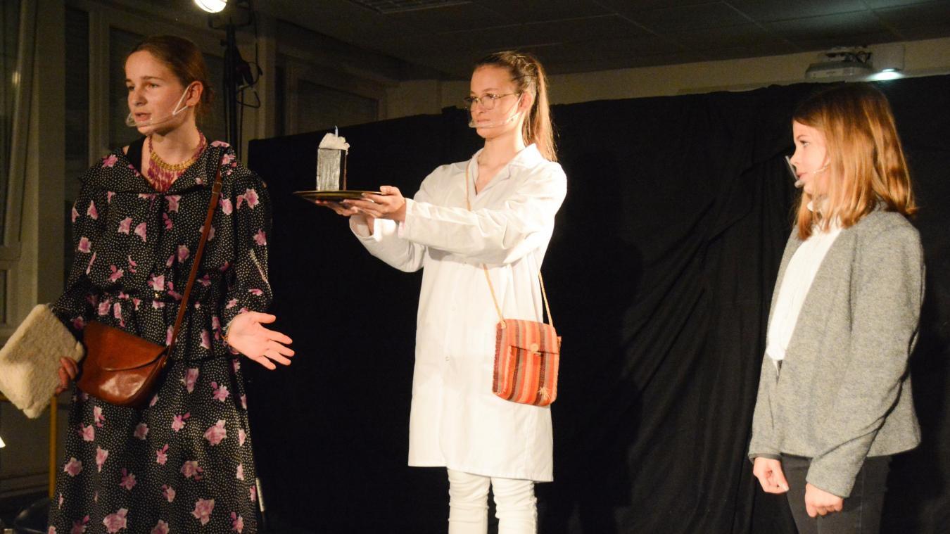 Les jeunes de l'atelier théâtre ont dû s'adapter aux conditions sanitaires actuelles.