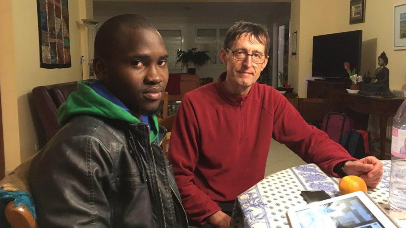 Alassane et Jean-Pierre ont vécu la réception du l'obligation de quitter le territoire comme « un coup de massue ».