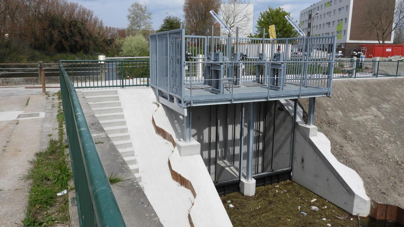 Le nouvel outil va permettre de limiter le risque d'inondation en cas de crues.