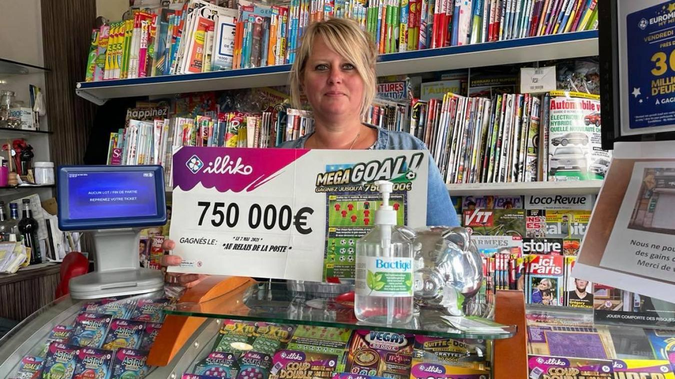 Un(e) client(e) du Relais de la poste a gagné 750 000 euros en grattant un jeu.