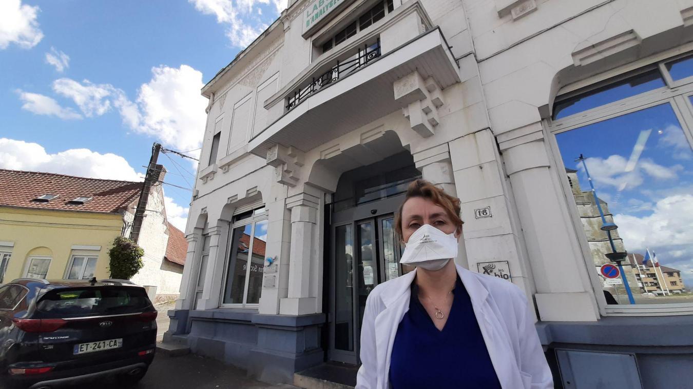 Anne-Sophie Hotin-Beugin, directrice des laboratoires Belilab, a réalisé à elle seule plus de 7 000 tests en un an.