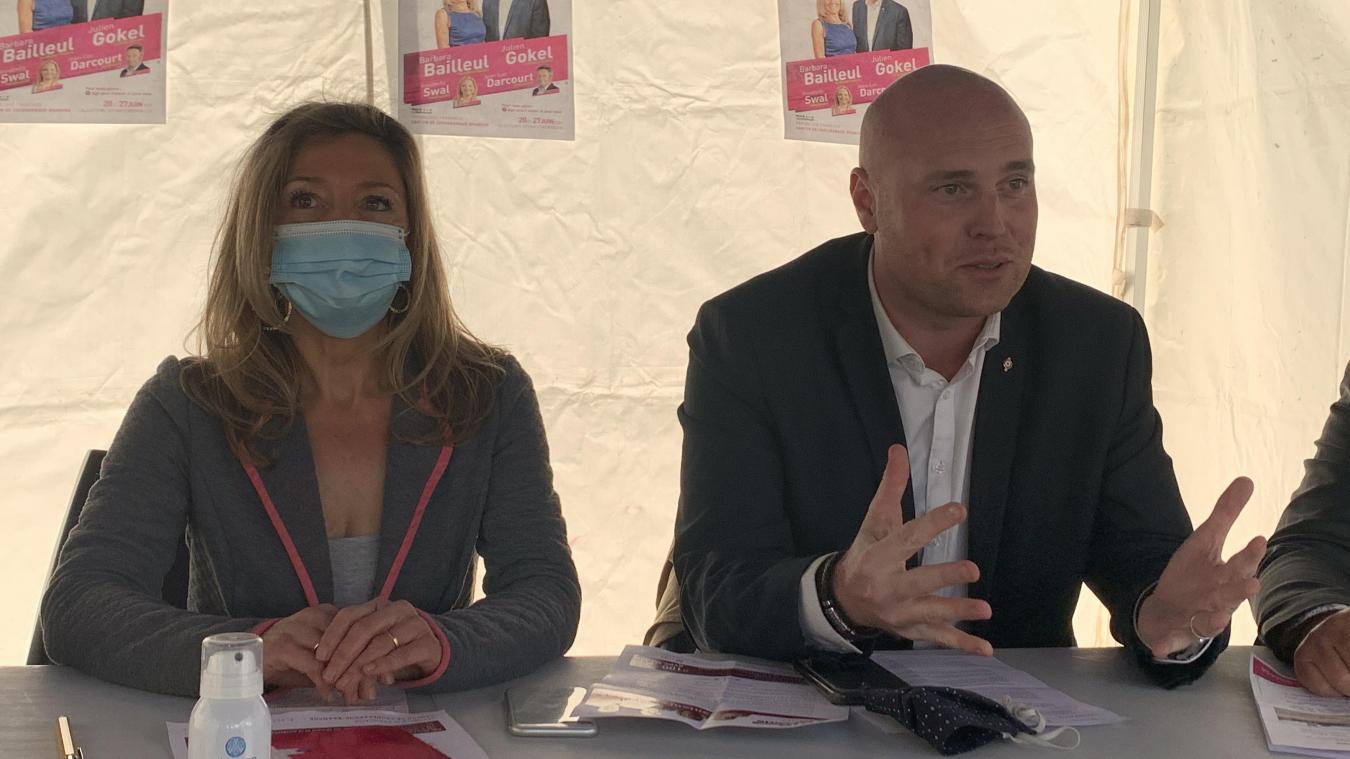 Pour faire face au Rassemblement national et conserver le canton de Coudekerque-Branche, la gauche sera représentée par Barbara Bailleul et Julien Gokel.
