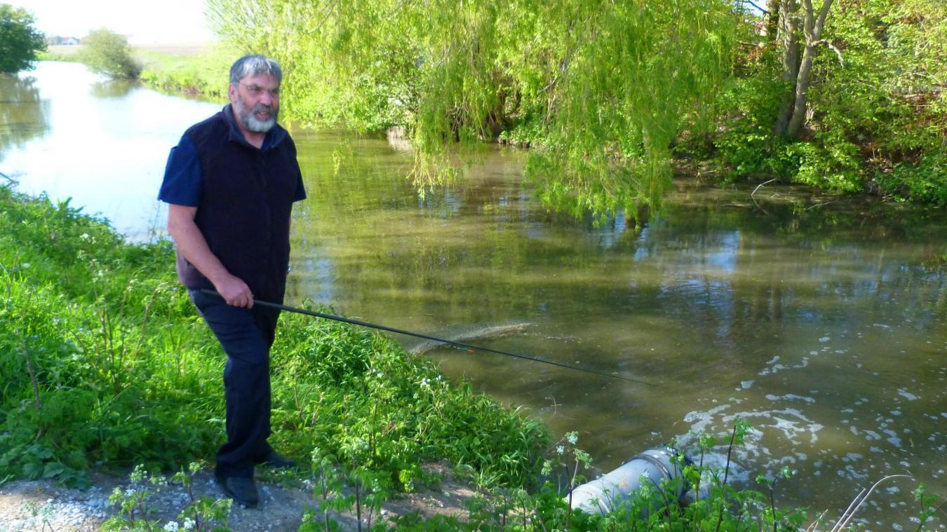 30 ans qu'André Pouleyn pêche avec l'association.