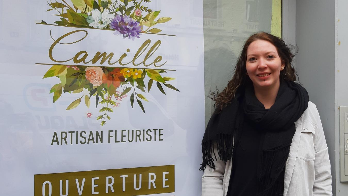 Saint-Omer: Camille, une nouvelle fleuriste en centre-ville