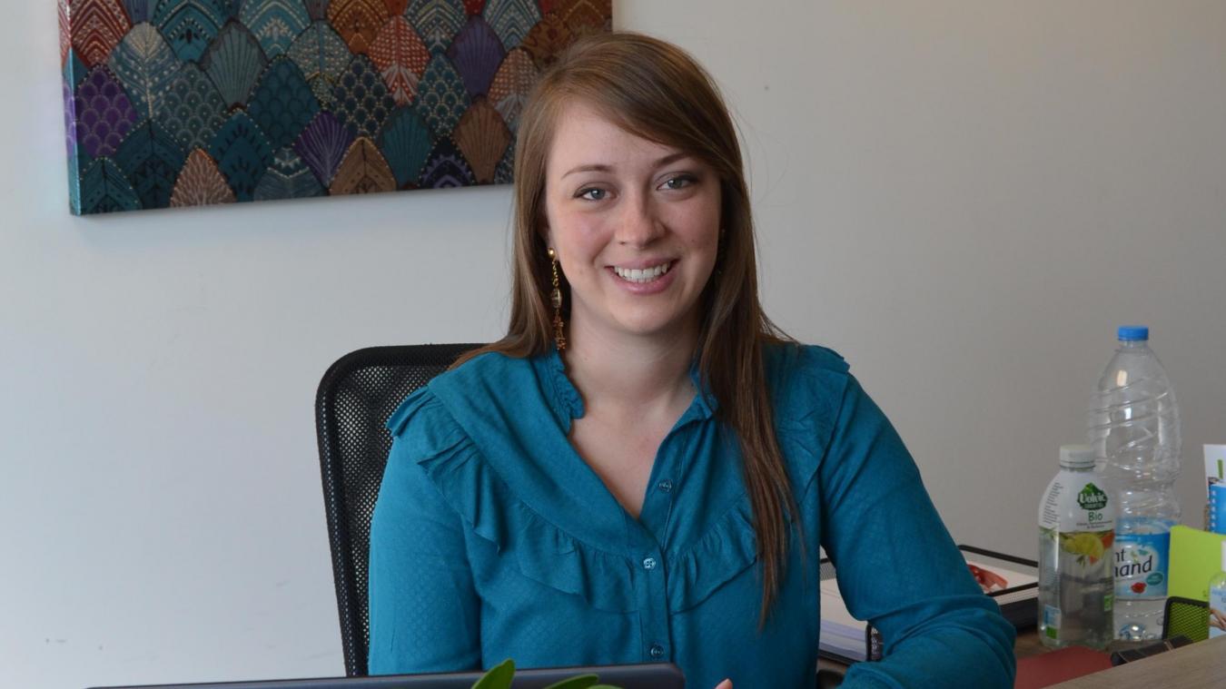 Clarisse Derollez est psychologiue à la Maison de la santé, à Lillers, depuis 2017.