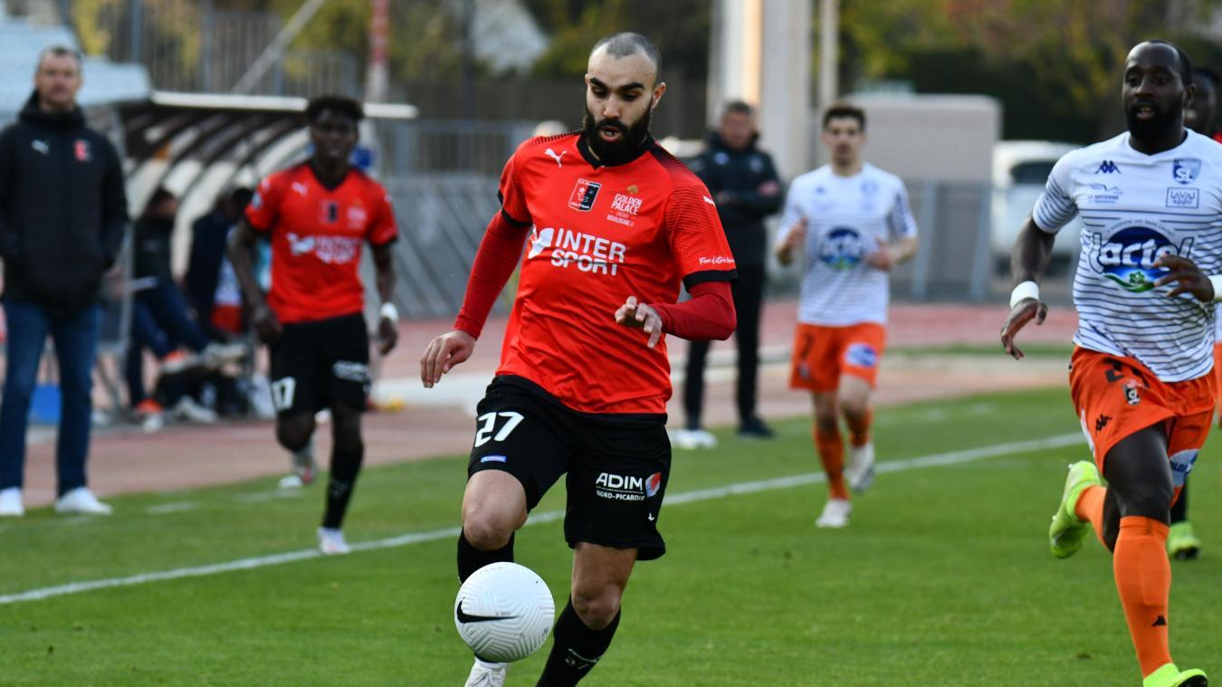 Oussama Abdeljelil aura été le buteur de ce dernier match de la saison.