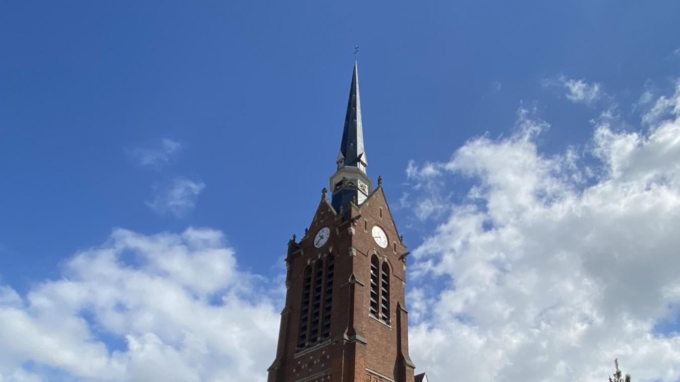 Le clocher sera en travaux début 2022.