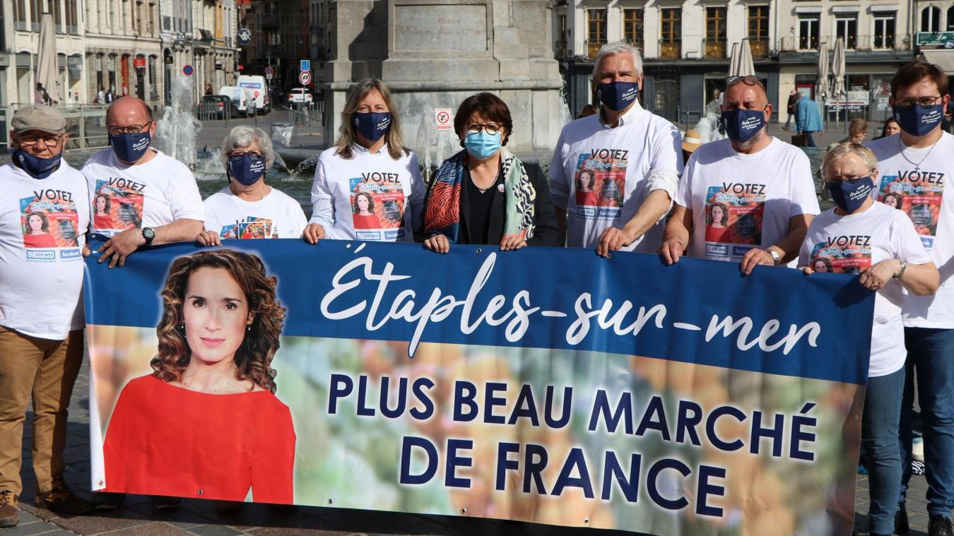 Une délégation d'élus étaplois a eu l'occasion de rencontrer Martine Aubry, maire de Lille. Elle apporte tout son soutien au marché étaplois.