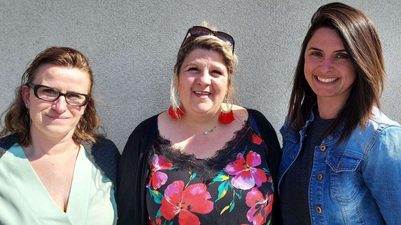 Laure, Céline et Marie sont prêtes à accueillir les enfants dès septembre dans leurs nouveaux locaux.