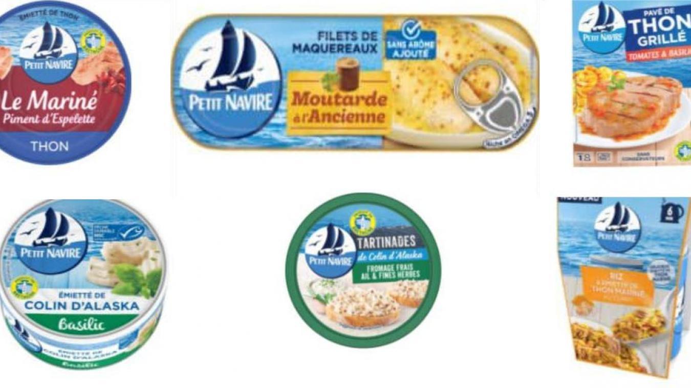 Plusieurs produits de la marque Petit Navire sont rappelés car ils contiennent trop de pesticides