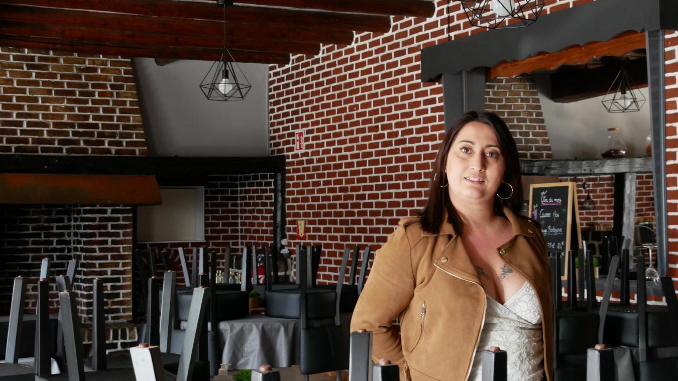 La direction du restaurant a préféré attendre le 9 juin pour rouvrir, comme l'explique Laëtitia Lemaire.