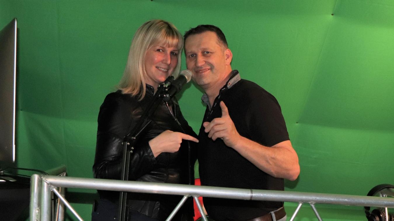 Kety Lucy et Jérôme Boulanger, qui mènent leur Web TV de mains de maîtres.