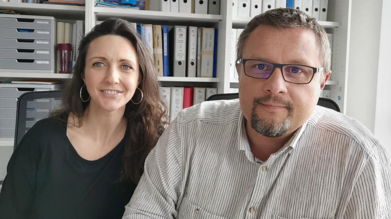 François Bachelet et son épouse ont repris l'entreprise dans laquelle François travaille depuis 2006.