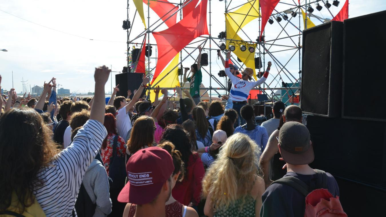 Comme pour chaque édition, le festival la Bonne aventure se déroulera sur la plage de Malo.