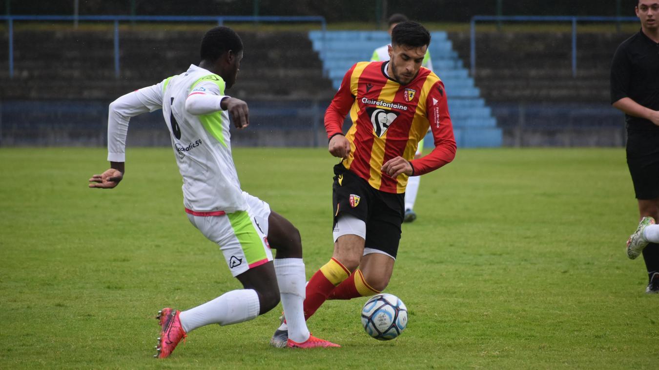 Mehdi Baaloudj a joué une heure contre Valenciennes B.