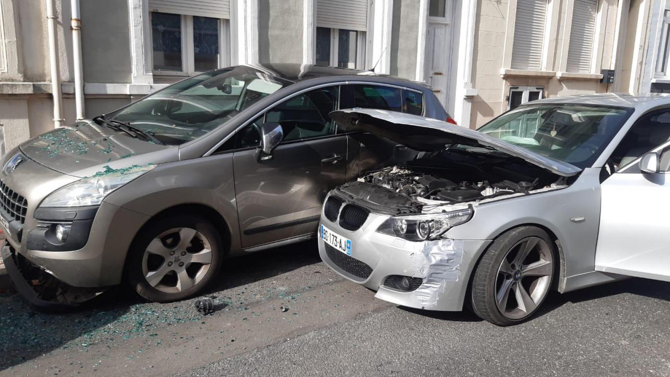 Sous l'emprise de l'alcool, il percute trois véhicules à Calais