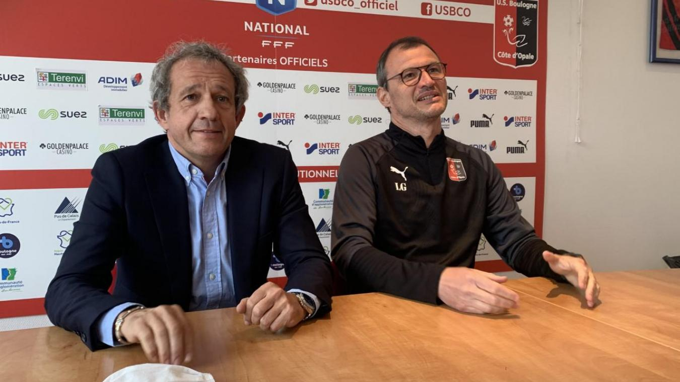 Reinold Delattre et Laurent Guyot se séparent en bons termes, mais espèrent tout les deux le maintien du club en National.