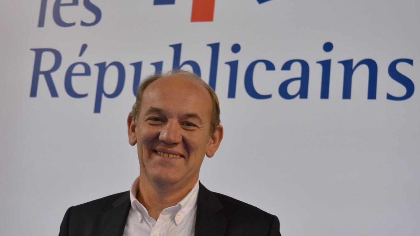 Daniel Fasquelle, maire du Touquet-Paris-Plage.